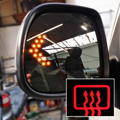 Heated LED Mirror Lens For VW T5.1 Transporter