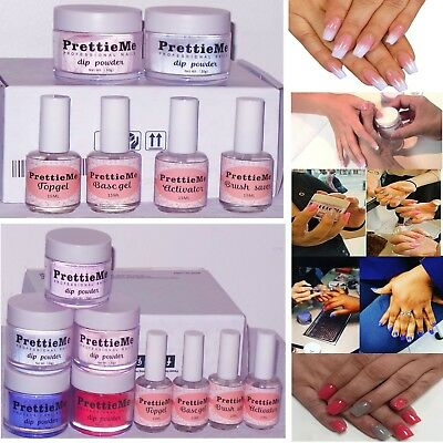 Nail Dipping Powder Acrylic System Kit Available*5g 10g 15g 30g kit Last 6 Weeks