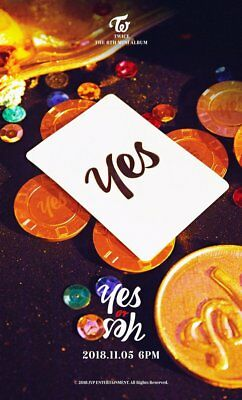 Twice 6Th Mini Album Package [Yes Or Yes] Cd+Photocard + Pre Order