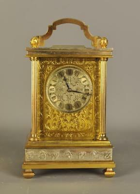 Fine Fusee English Carriage Clock