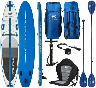 Brunelli 12.0 Monstre Premium Isup Board Stand Up Paddle Surf-Board 365cm