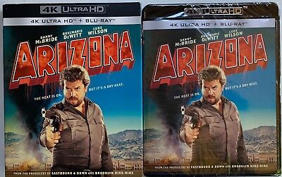 New Arizona 4K Ultra Hd Blu Ray + Slipcover Sleeve Free World Wide Shipping