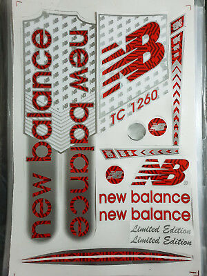 New Balance Tc1260 Red Cricket Bat Sticker. Buy One Get One Free Limited Offer