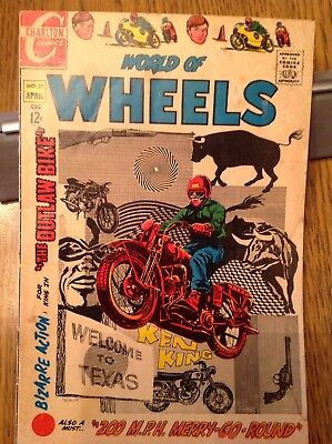 World of Wheels No. 25 April 1969 Charlton Comics - Ken King
