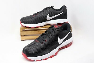 Nike Air Max Full Ride TR 1.5 Running Training Shoes Black Red 869633-060 Men's