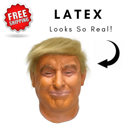 Disguise Donald Trump 1//2 Mask Costume Accessory