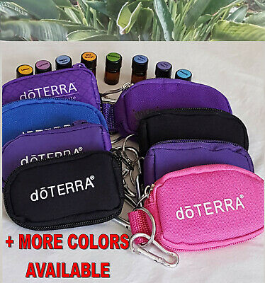 doTERRA TO GO Travel Key Chain Kit w/8 Filled 100% CPTG Oil Bttls 2ml-5/8dram/ea
