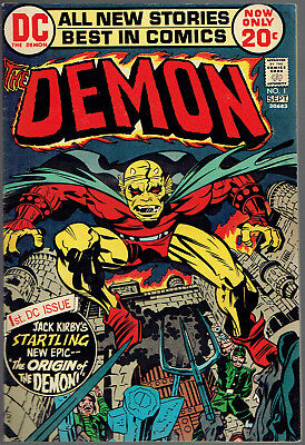 THE DEMON  1  FN/6.0  -  1st appearance of Jason Blood and Etrigan!