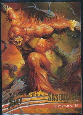 1996 X-Men Ultra Wolverine Trading Card #13 Sasquatch