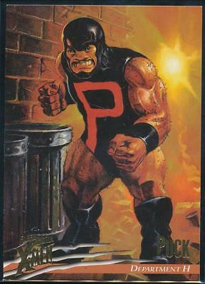 1996 X-Men Ultra Wolverine Trading Card #17 Puck