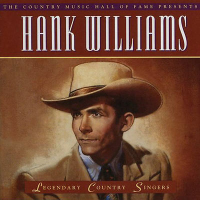 Legendary Country Singers Hank Williams CD 1994 Lost Highway TIME-LIFE *New CD*