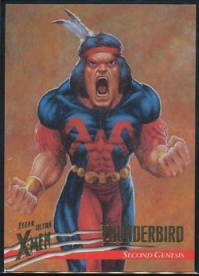1996 X-Men Ultra Wolverine Trading Card #26 Thunderbird