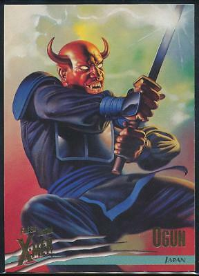 1996 X-Men Ultra Wolverine Trading Card #31 Ogun