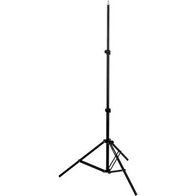 Impact Photo Studio Light Stand Model LS-6B Black 6 Foot BRAND NEW V50