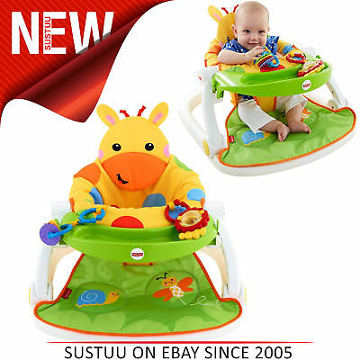 Fisher-Price Girafe Sit Me Up Sol Siège │ Enfants Collation Temps Chaise Jouet │