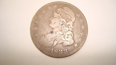 1833 Capped Bust Half 50C - You Grade It (#Lys7)