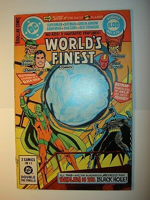 World's Finest #270 FN/VF,272 VF-,285 VF+,287 VF,288,291Batman,Superman,lot of 6