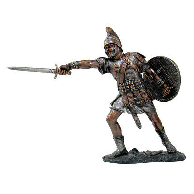 "Fighting Roman Warrior Centurion Figurine Statue  8.5"" - Free Shipping"