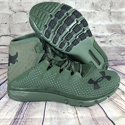 newest a983b 02a1a ... new zealand under armour ua project rock delta dna green training shoes  3020175 300 sz7 7c059