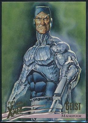 1996 X-Men Ultra Wolverine Trading Card #52 Geist