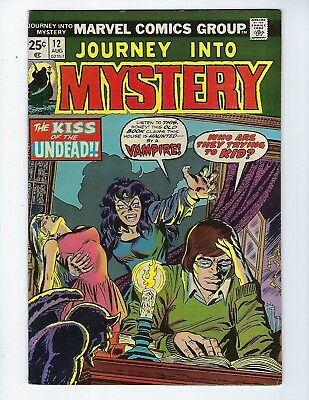 JOURNEY INTO MYSTERY # 12 (Atlas Horror Re-Prints, With DITKO Art, AUG 197), VF-
