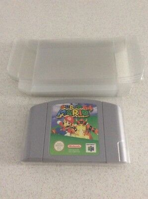 Nintendo 64 Cartridge Protectors X10 Thick Quality N64 Console Game