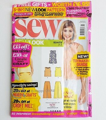 SEW magazine - Issue 107 with 2 Free gifts