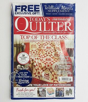 Today's Quilter - Issue 32 with  William Morris Supplement