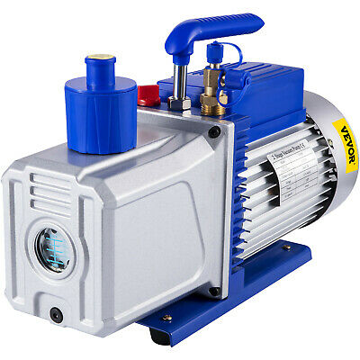 12CFM 2 Stages 1HP Refrigerant Vacuum Pump Air Condition 110V/50HZ Refrigeration