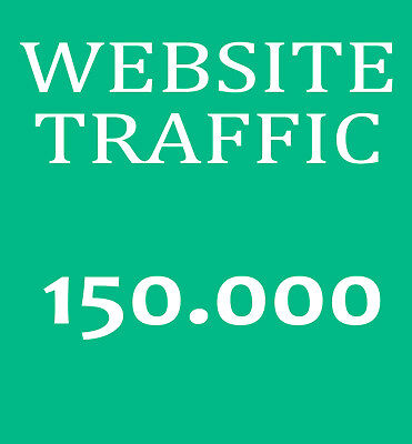 150.000 Besucher-Traffic - Bewerbung ihrer Website - Marketing und Promotion SEO