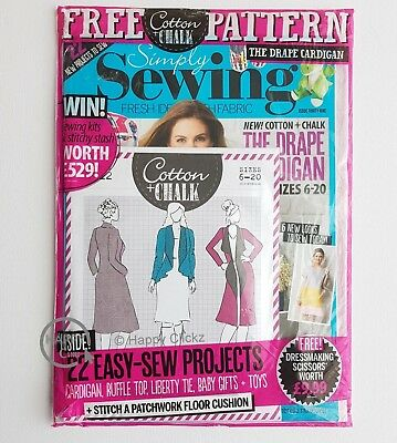Simply Sewing Magazine Issue 39 with Free Gift