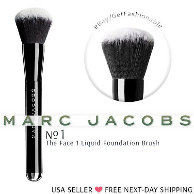 Marc Jacobs The Face I Liquid Foundation Brush, NEW Professional Makeup