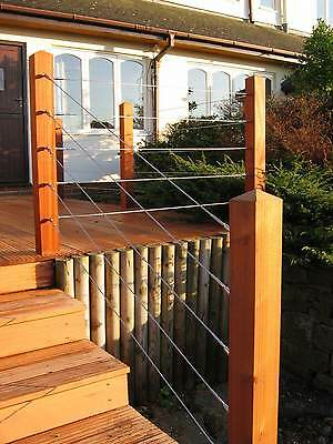 Stainless Steel Decking Balustrade & Handrail Infill Tension Wire
