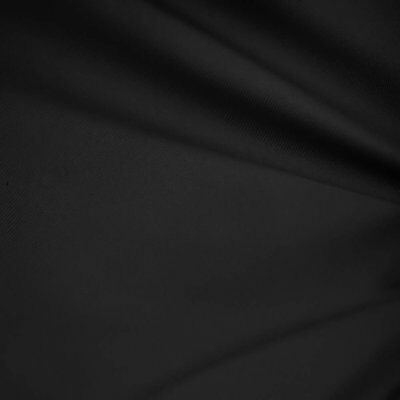 "Black 60"" Wide Premium Cotton Blend Broadcloth Fabric By 3 yards free shipping"