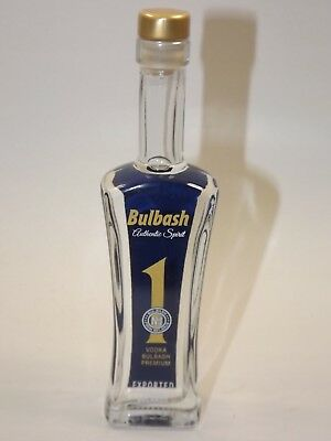 Vodka BULBASH 50 ml 40% mini flasche bottle miniature bottela BELARUS