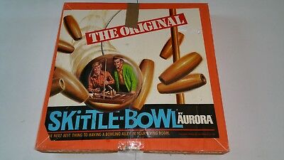 Aurora Skittle Bowl Game Pin Replacement Pins Wooden Wood