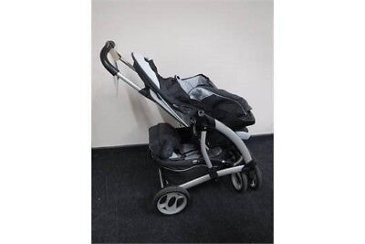 Graco Quattro Tour Deluxe Pushchair Pram With Accessories And Owners Book