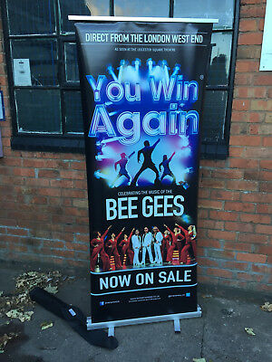 Roller Banner Fold Up / POP Up Display Stand Add Your Own Graphics / Advertising