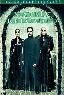 The Matrix Reloaded (DVD,, 2003, 2-Disc Set, Widescreen) Disc Only,