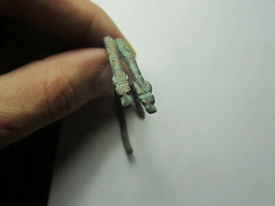 Ancient bracelet.Ancient bronze  Metal detector finds  100% original