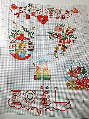 Magazin,Creation Point de Croix ,54,Veronique Enginger,Weihnachten,Mädchen,Kranz