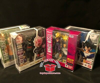 LOT OF 5 SOFT PLASTIC CASE for Dragonball Z Std Box Scouter Android SH Figuarts