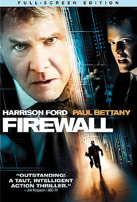 Firewall (DVD, 2006, Full Frame) Disc Only,