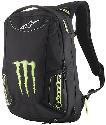 Alpinestars Monster Merodeador Mochila Motocicleta Monster Energy Incl. Lluvia