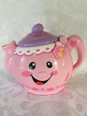 "Fisher Price Laugh & Learn ""Say Please"" Musical Teapot Toy"