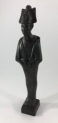 Ancient Egyptian God of the Dead Osiris Statue Figurine Hand Carved Made n Egypt
