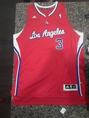 Adidas NBA Los Angeles Clippers Jersey Chris Paul Size Xl length +2 inches b949d70f2