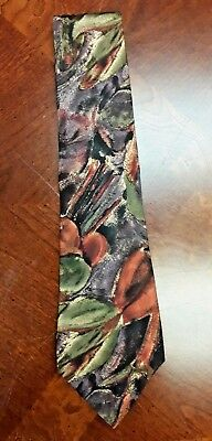 Collection XXI by Richel Men's Necktie Tie 100% Silk Hand Made in Spain