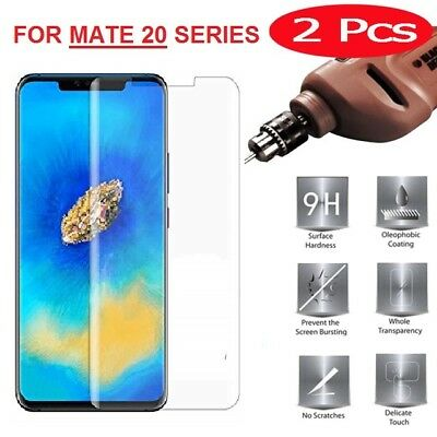 For Huawei MATE 20 Pro Lite Tempered Glass Screen Protector Premium Protection