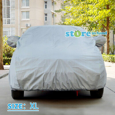 New Car Cover UV Resistance Dust Scratch Dirt Protection Size XL